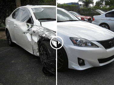 Pristine-Lexus-Auto-Body-Repair-in-Pompano